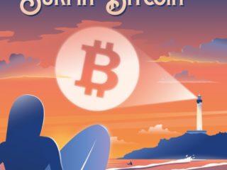 Affiche Surfin'Bitcoin